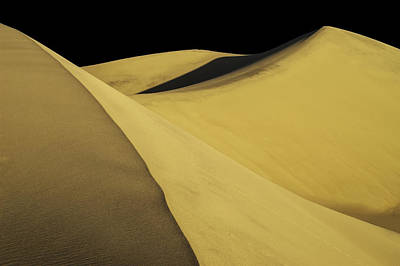 Photograph - Mesquite Dunes 03 by Jim Dollar