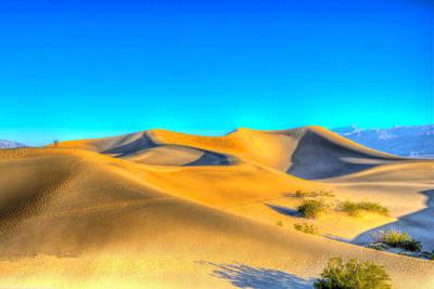 Photograph - Mesquite Flat Sunrise by Don Mercer