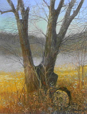 Painting - Mesquite Magic by Jack Bolin