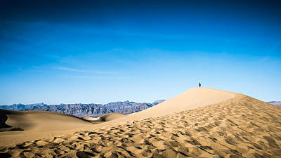 Mesquite Sand Dunes - Death Valley, United States - Color Street Photography Art Print by Giuseppe Milo