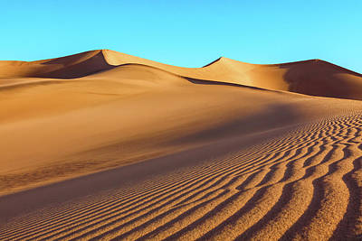 Photograph - Mesquite Sand-dunes by Jonathan Nguyen