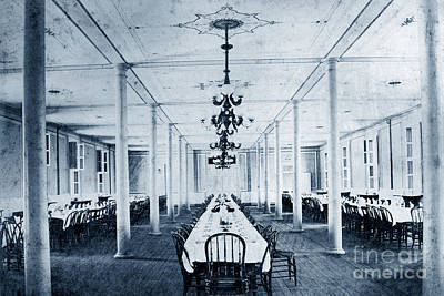 Photograph - Mess Hall United States Naval Academy, Annapolis, Maryland by California Views Mr Pat Hathaway Archives