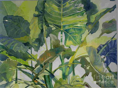 Mess Of Greens Art Print by Elizabeth Carr