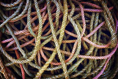 Photograph - Mess Of Ropes by Carlos Caetano