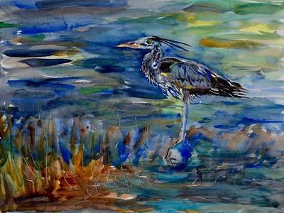 Painting - Messenger by Beverley Harper Tinsley
