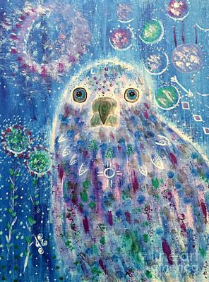 Painting - Messenger by Julie Engelhardt
