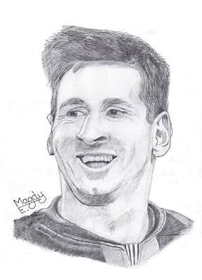 Messi 1 Art Print