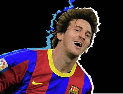 Messi 3498 By Nicholas Nixo Efthimiou Original