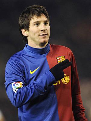 Messi Photograph - Messi 5 by Rafa Rivas
