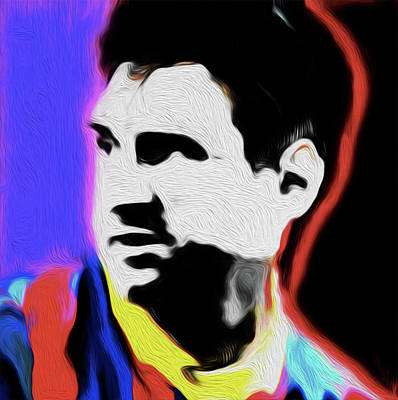 Messi Painting - Messi #898,nixo by Nicholas Nixo