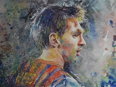 Messi - Portrait 1 Original