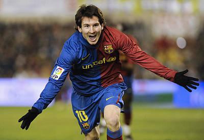 Messi 1 Art Print by Rafa Rivas