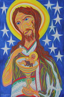 Painting - Messiah And The New Adam by Robert SORENSEN