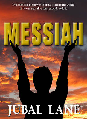 Book Jacket Design Photograph - Messiah Book Cover by Mike Nellums