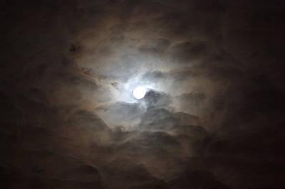 Messianic Moon Art Print