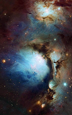 Photograph - Messier 78 Detail Enhanced by Weston Westmoreland