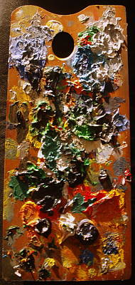 Photograph - Messy Palette by Michael Canning