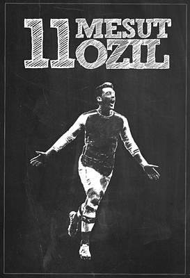 Mesut Ozil Art Print by Semih Yurdabak