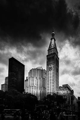 Art Print featuring the photograph Met-life Tower by Marvin Spates