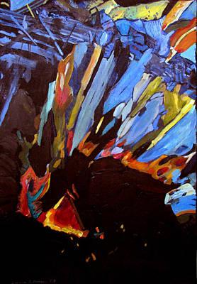 Painting - Metagabbro by Art Nomad Sandra  Hansen
