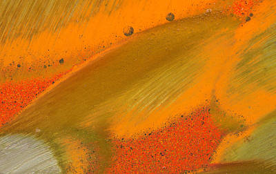 Photograph - Metal Abstract Four by David Waldrop