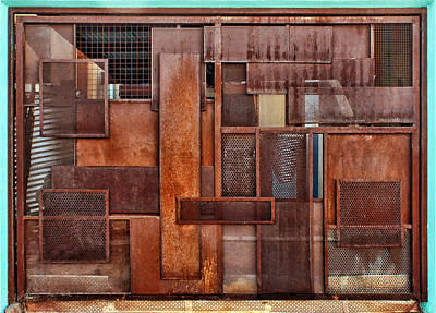 Photograph - Metal - Abstract - Rust by Nikolyn McDonald
