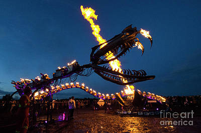 Photograph - Metal And Fire 3 by Bob Christopher
