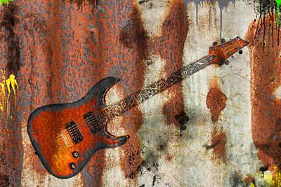 Photograph - Metal Band by Steve McKinzie