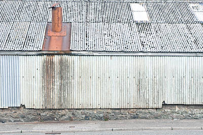 Agricultural Industry Wall Art - Photograph - Metal Building by Tom Gowanlock