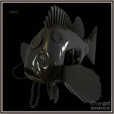 Metal Fish 13mf1 Original by Pemaro