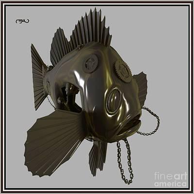 Metal Fish 14mf1 Original by Pemaro