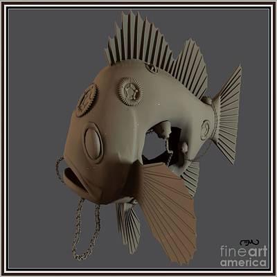 Metal Fish 15mf1 Original