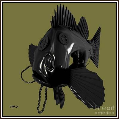 Metal Fish 16mf1 Original by Pemaro