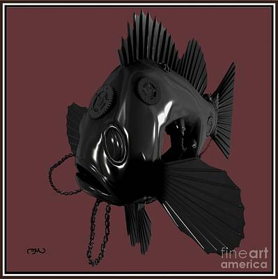 Metal Fish 19mf1 Original by Pemaro