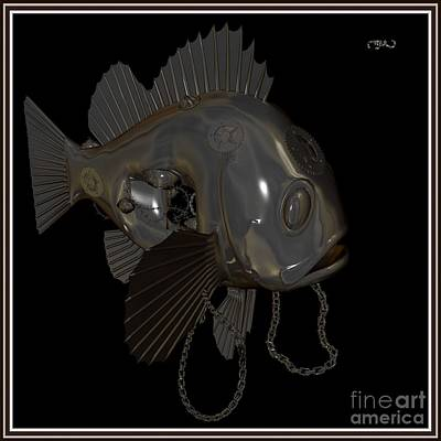 Metal Fish 2mf1 Original by Pemaro