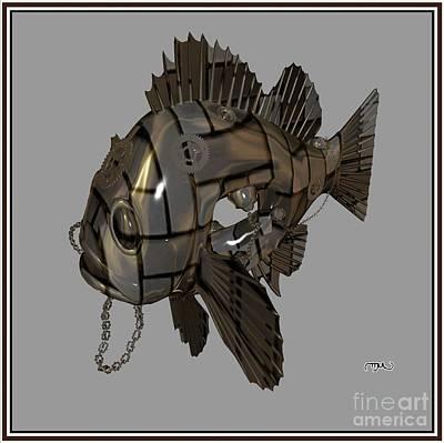 Metal Fish 3mf1 Original by Pemaro
