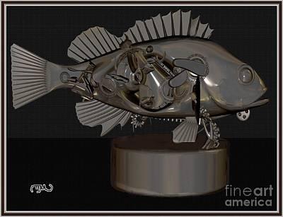 Metal Fish Mf1 Original by Pemaro