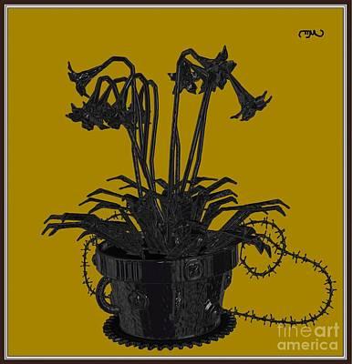 Metal Flowers 411mf1 Original by Petko Pemaro