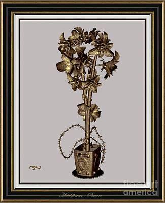 Metal Flowers 911mf2 Original by Pemaro
