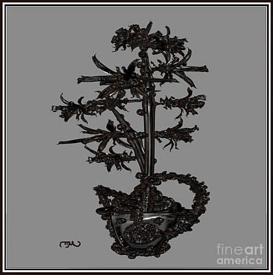 Metal Flowers 914mf1 Original by Pemaro