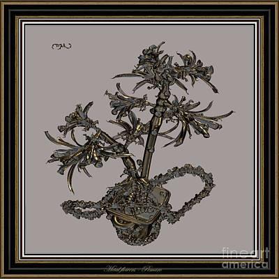 Metal Flowers 918mf2 Original by Pemaro