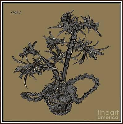 Metal Flowers 920mf1 Original by Pemaro