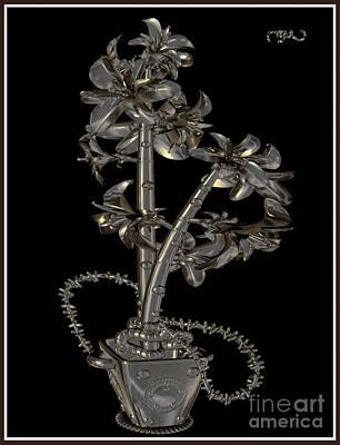 Metal Flowers 922mf1 Original by Pemaro
