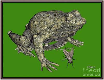 Metal Frog 1mf1 Original