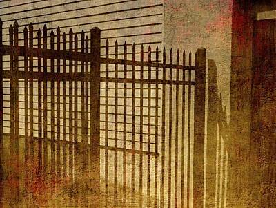 Photograph - Metal Gate In Athens Greece by Mike McCool