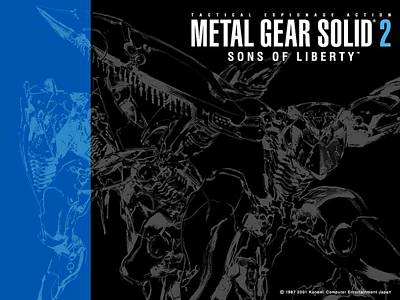 Pattern Digital Art - Metal Gear Solid 2 Sons Of Liberty by Maye Loeser