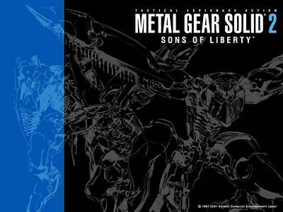 Floral Digital Art - Metal Gear Solid 2 Sons Of Liberty by Maye Loeser