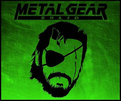Digital Art - Metal Gear Solid by Kyle West