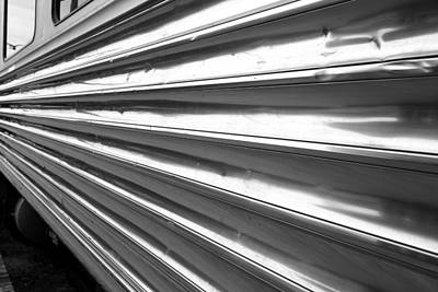 Photograph - Metal Lines by Valentino Visentini
