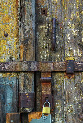 Photograph - Metal Locks by Carlos Caetano